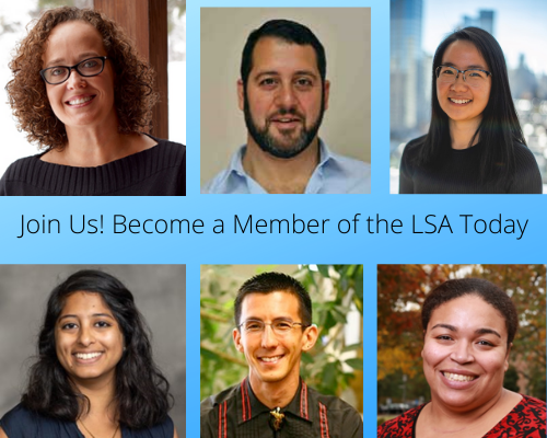 Become a member of the LSA today
