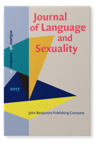 Journal of Language and Sexuality 6(1) cover