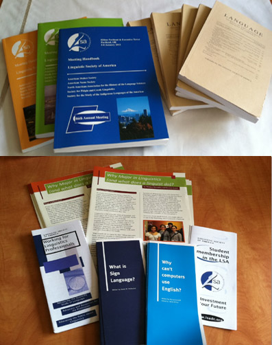 Publications of LSA