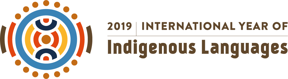 Logo of the UNESCO 2019 International Year of Indigenous Languages