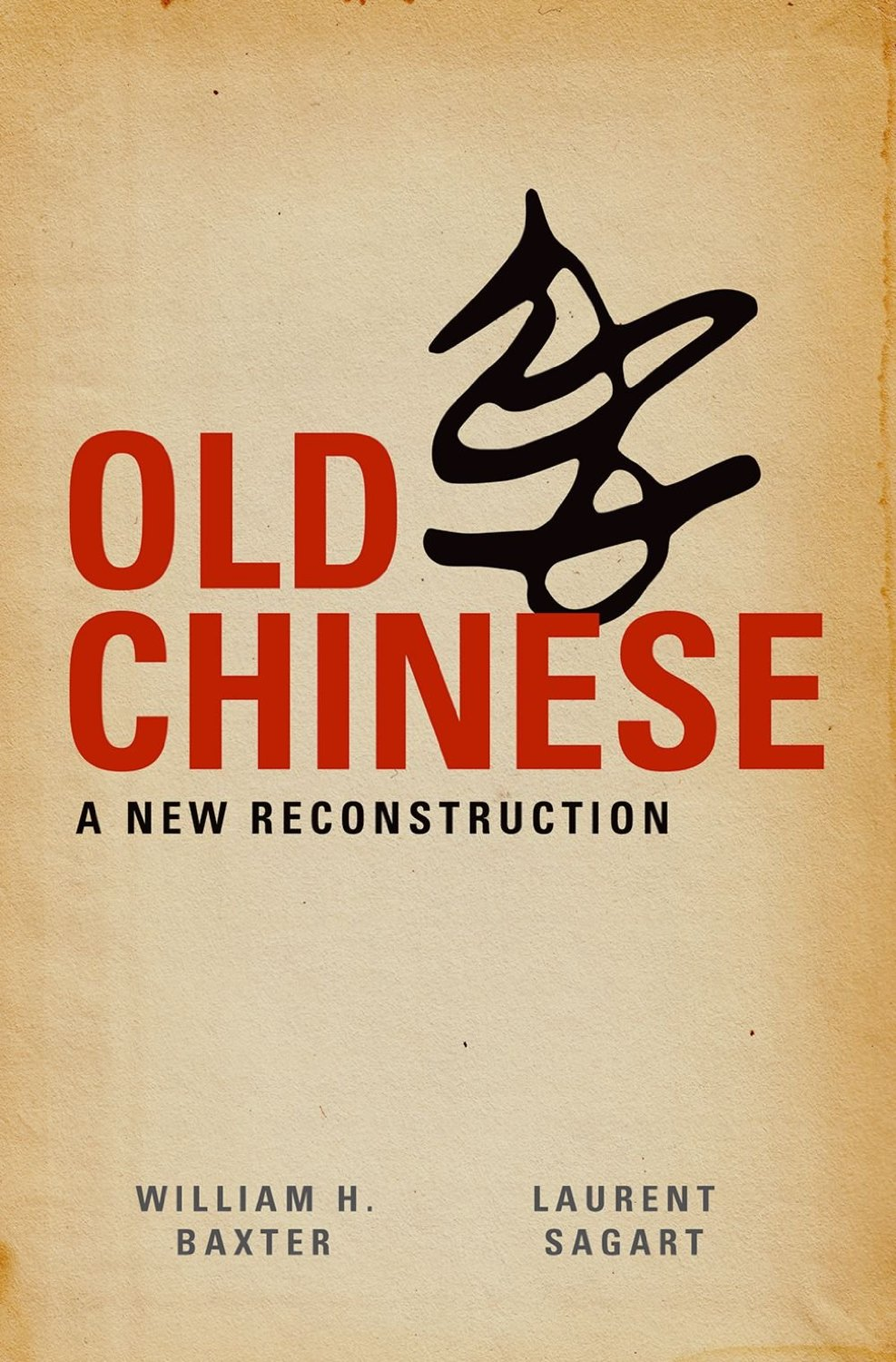 Old Chinese Book Cover ~ Old chinese a new reconstruction wins bloomfield book