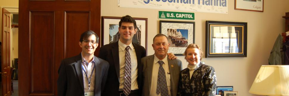 LSA Advocacy Day Participants Visiting U.S. Representative Richard Hanna (R-NY)