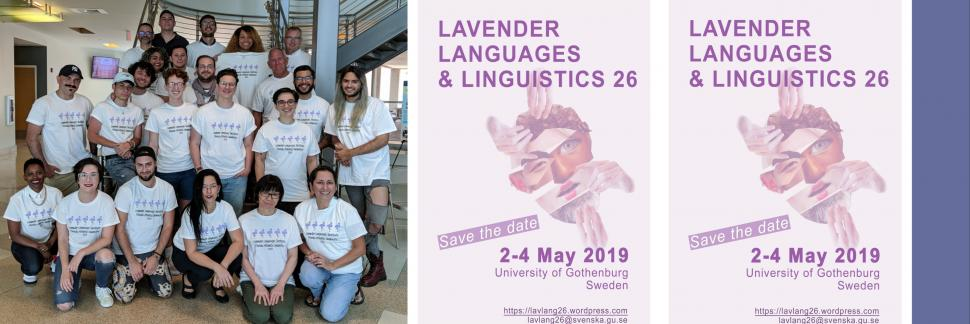 This Month in Linguistics History: Lavender Language/Lx