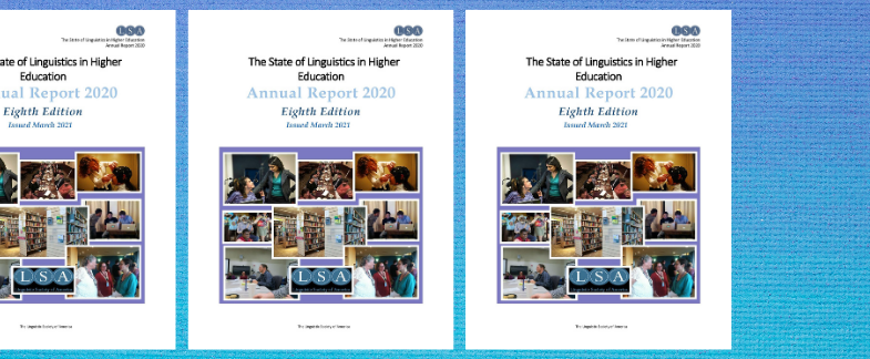 New Annual Data Report Released on the State of Linguistics in Higher Education