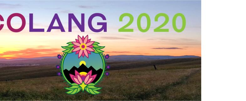 CoLang 2020 Registration Now Open