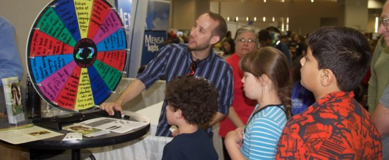 LSA sponsors linguistics outreach at 2016 USA Science and Engineering Festival