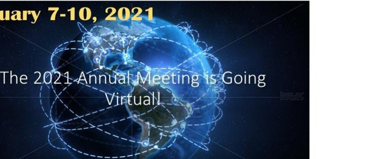 Register Now for the 2021 Virtual Meeting!